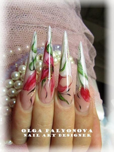 Курсы росписи акварелью на ногтях, Москва