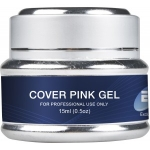 Гель розовый камуфлирующий средней консистенции Cover Pink Gel EF 15мл