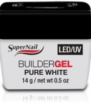 Белый гель 14 гр Pure White LED\UV Gel SuperNail